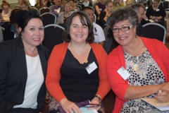 Lisa Hawkeswood, Ainsley Darvell and Tania Thomas, Te Roopu Taurima